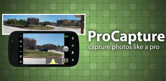 ProCapture Camera APK 1.7.4.3 | Take photos like a pro - APK 4 Phone | Must-Have Android Apps | A4P