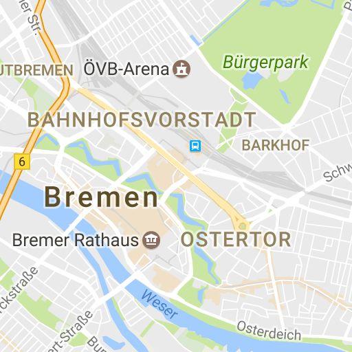 Bremen Tourismus - Entdeckerstrecke durch Altstadt und Viertel