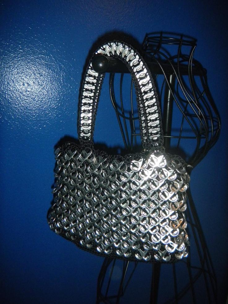pull tabs handbags. $45.00, via Etsy.