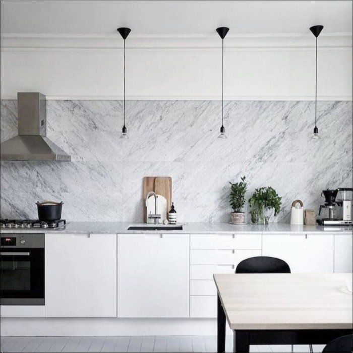 Awesome Scandinavian Kitchen Interior Idea 134