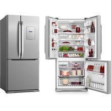 Geladeira/Refrigerador Electrolux French Door DM83X 579 litros 2 portas Frost Free Inox