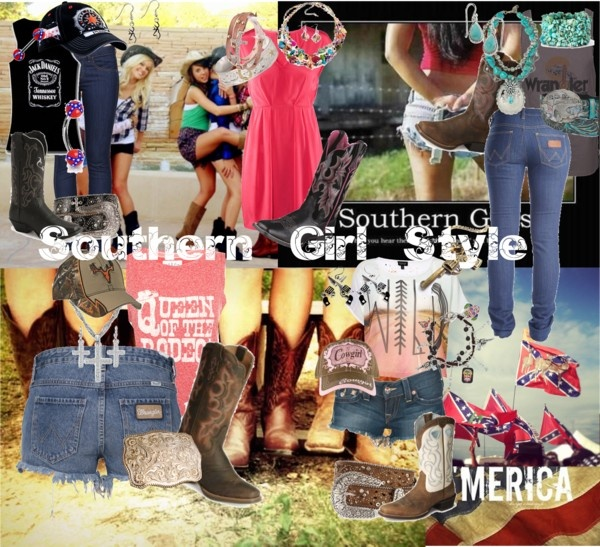 """""""Southern girl style"""" by redneckgirl19 ❤ liked on Polyvore"""