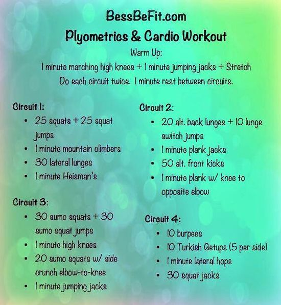 Plyometric Workout Challenge: 17 Best Images About Fitness On Pinterest