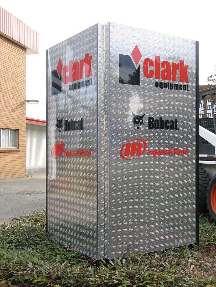 Clark Equipment #business sign