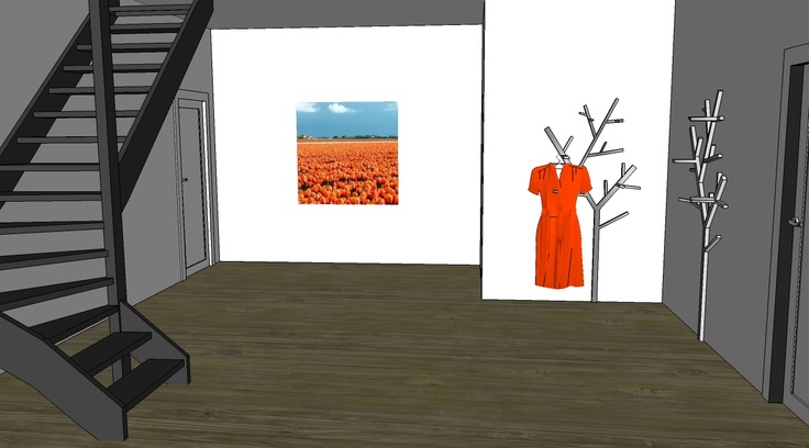 Entree Woonboerderij 3D interieuradvies