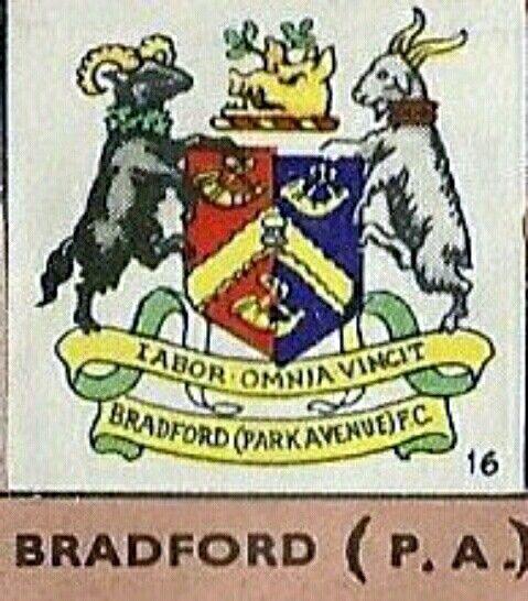 Bradford Park Avenue crest.