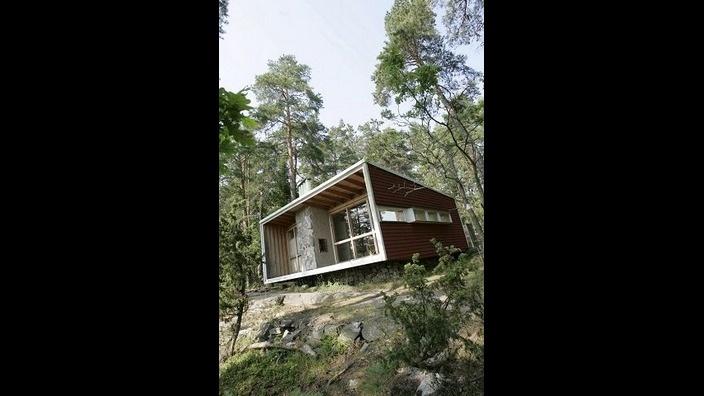 Ralph Erskines summerhouse