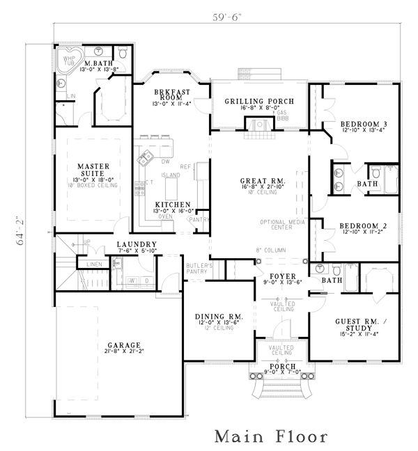 183 best home design images on pinterest architecture for Best floor plan ever