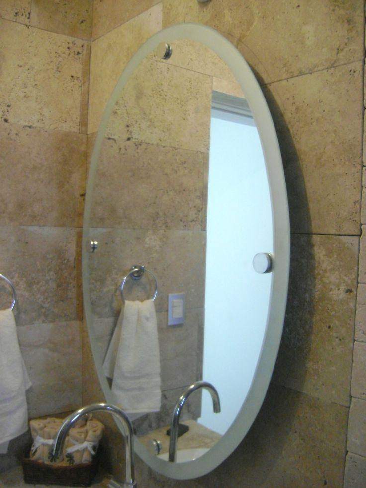 M s de 25 ideas incre bles sobre espejo ovalado en pinterest espejos de ba o decoraci n del - Espejos ovalados para bano ...
