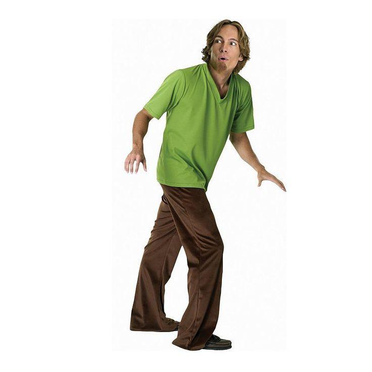 Scooby-Doo Shaggy Costume - Adult, Green