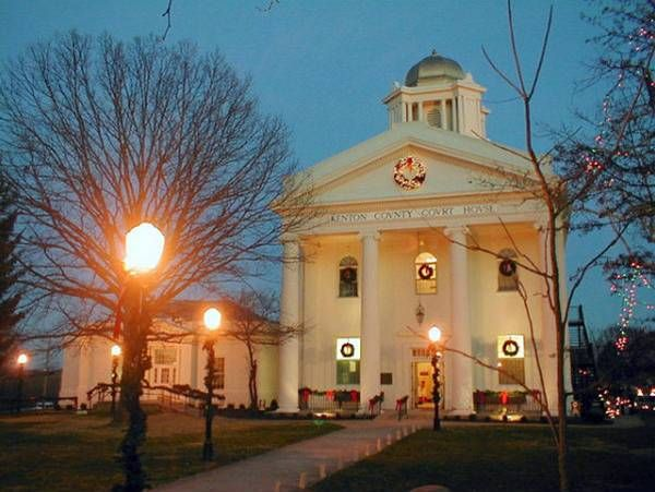 Safest Places in Kentucky----------# 3  City of Independence.... I love my hometown.  This is our courthouse.