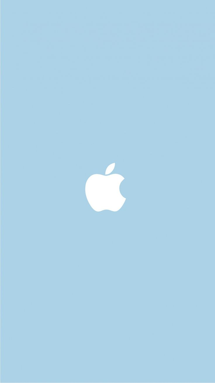 Best of Macintosh Apple Logo Wallpapers. Tap image for more! - @mobile9 | Wallpapers for iPhone 5/5s, iPhone 6 & 6 plus #mobile #minimal #blue