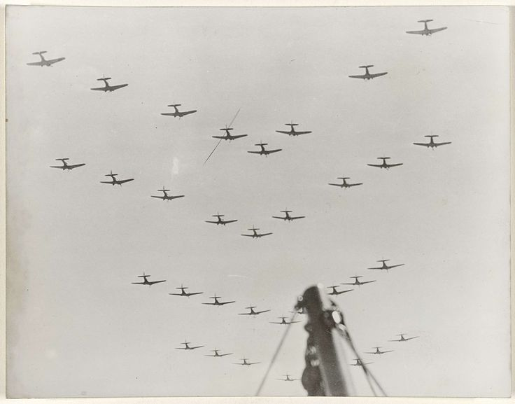 Anonymous | Manoeuvres van de Amerikaanse luchtmacht in de Pacific, Anonymous, 1939 |