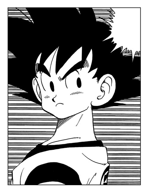 Teen Goku | #manga