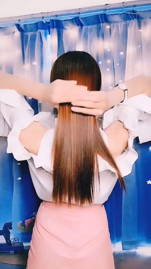 frisuren für lange haare videos   Frisuren Tutorials Zusammenstellung 2019   Teil 143