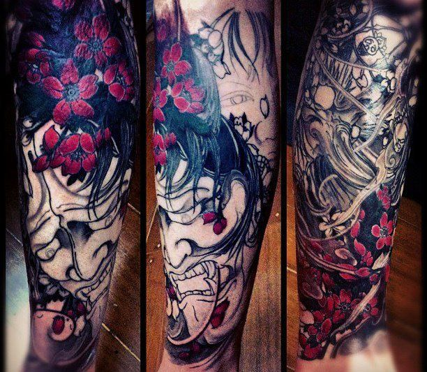25 Best Ideas About Hannya Mask Tattoo On Pinterest Oni
