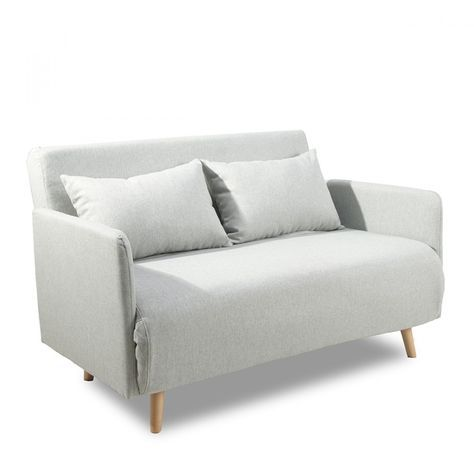 Best 25 convertible 2 places ideas that you will like on pinterest canap - Canape futon convertible ikea ...