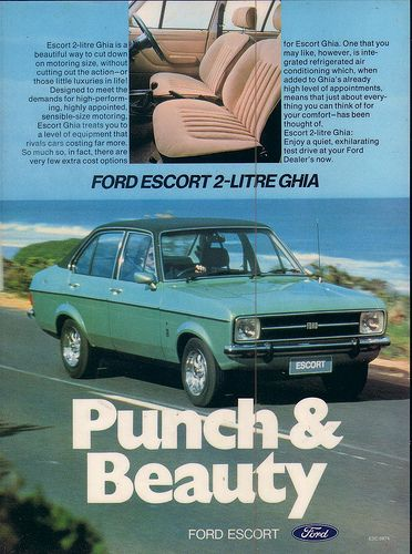 1976 Ford Mk2 Escort Ghia Ad | Flickr - Photo Sharing!