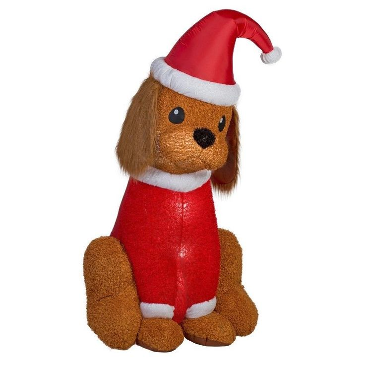 Outdoor Inflatable Holiday Decoration 7ft Inflatable Cocker Spaniel Dog New #InflatableCockerSpanielDog