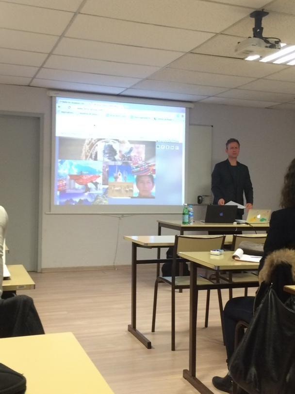 Un grand merci à Fabrice Pawlak et au groupe @terragroup pour sa présentation de Toogonet ! #réceptifs