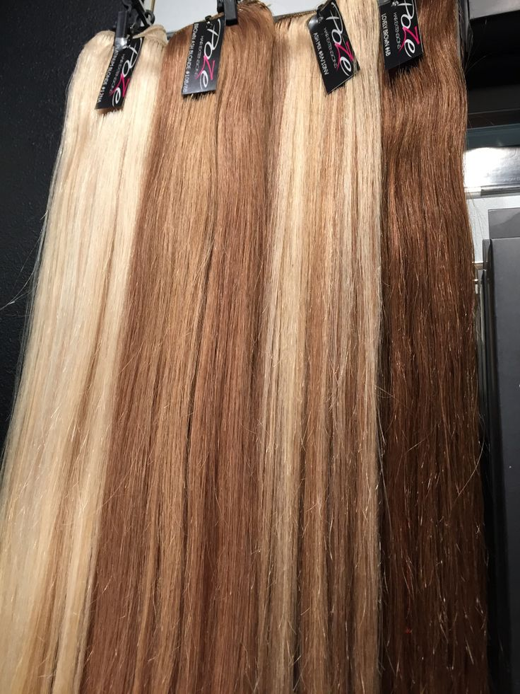 Beautiful shades from black to platinum blondes, warm tones to cold ashy tones. Poze offers the best color collection in hair extensions. Find yours att www.pozehair.com