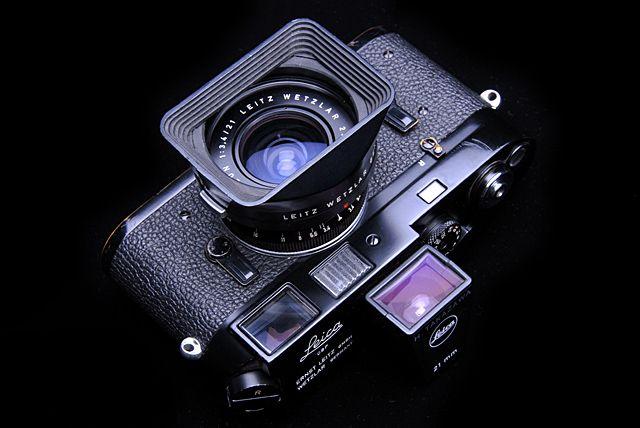 Leica M4 BP w/Super Angulon 21mm F3.4