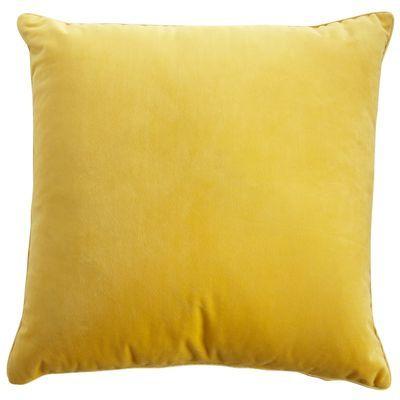 Plush Pillow - Gold