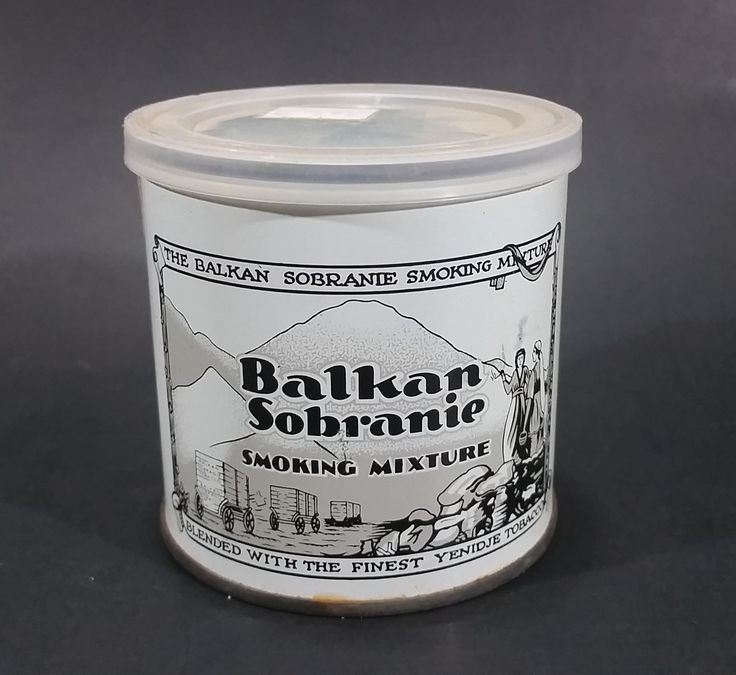 Vintage Balkan Sobranie Smoking Mixture 2oz Tobacco Tin w/ Plastic Lid - Woodward's Sticker https://treasurevalleyantiques.com/products/vintage-balkan-sobranie-smoking-mixture-2oz-tobacco-tin-w-plastic-lid-woodwards-sticker #Vintage #Balkan #Sobranie #Tobacco #Smoking #Mixture #Smokes #Tobacciana #Tins #Cans #Canisters #London #England #Collectibles #Woodwards #ManCave #Garage #Decor