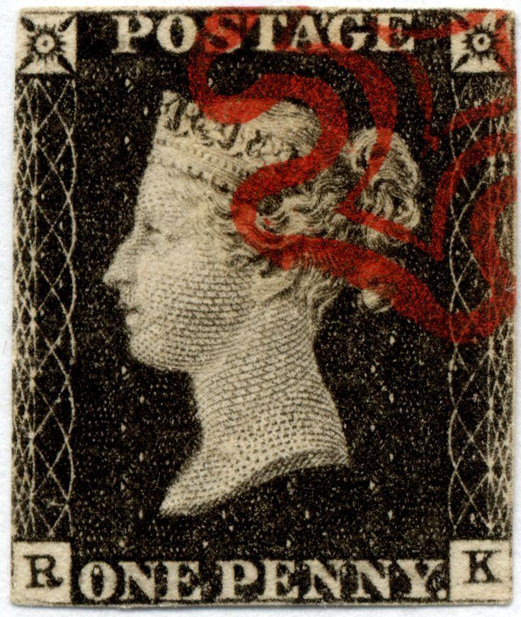 Der älteste deutsche Brief mit einer Briefmarke ging nach England und war 1840 Teil der Korrespondenz zwischen zwei Schwestern. Die Schwester, die in Deutschland wohnte, hatte ihn privat von Bremen nach London transportieren lassen, wo man ihn beim Postamt aufgab, um innerhalb Englands zugestellt zu werden. Teil des Brieffundes war eine sogenannte one penny black, die älteste Briefmarke der Welt.