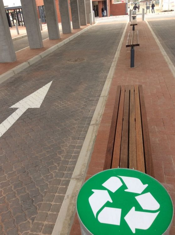 VISI / Articles / South Africa's First Green Taxi Rank