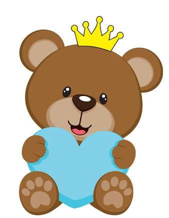 Resultado de imagem para risco urso principe coroa patch aplique