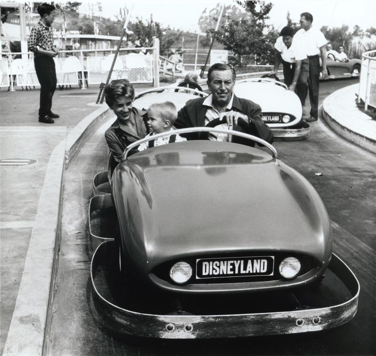Walt Disney on Autopia | Celebrities I Love Vol. 11 / Walt Disney ...