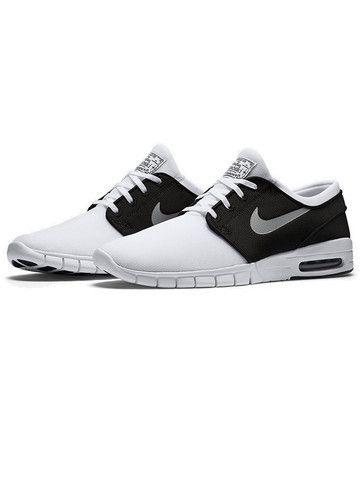 separation shoes c8380 e38fa ... Nike Stefan Janoski Max White  Metallic Silver Black Nike SB ...