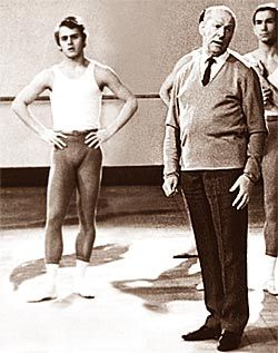 Alexander Pushkin sur la danse