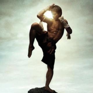 The art of Muay Boran kickboxing.