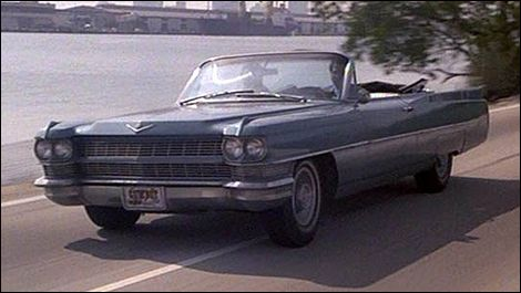 miami vice 1964 cadillac coupe de ville convertible driven by philip michael thomas as ricardo. Black Bedroom Furniture Sets. Home Design Ideas