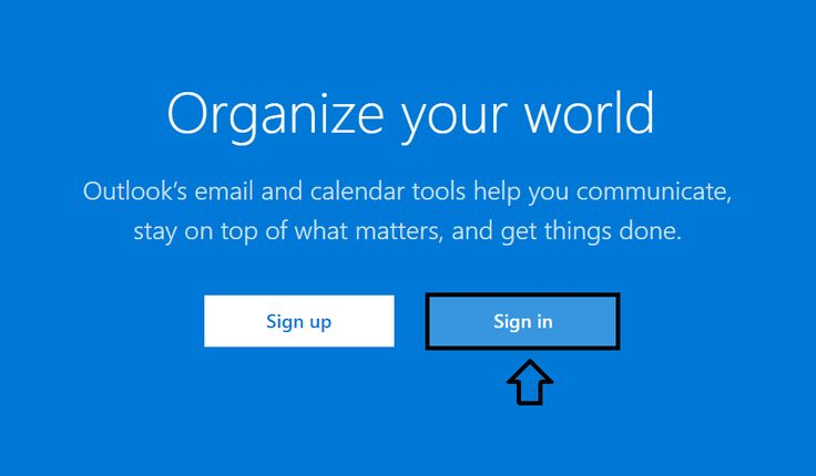 Hotmail | Outlook sign in | login. Step to step accessing key