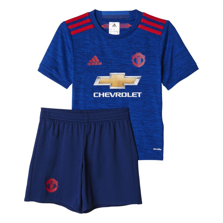 Adidas Manchester United Away Mini-Kit 2016/2017