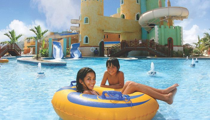 Jamaica's largest waterpark is located at Sunset Beach Resort, in Montego Bay! Always great fun and no lines!
