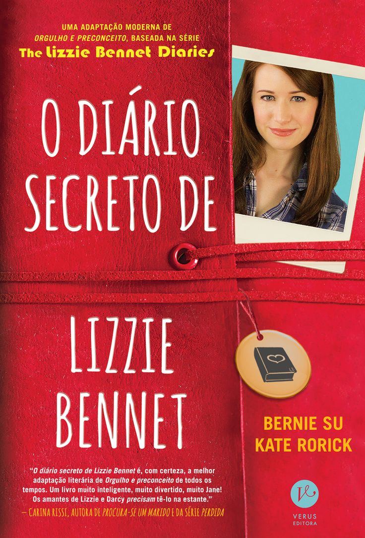 Consegue atualizar um clássico, uma prova de amor ao texto de Jane Austen. No Literatura de Mulherzinha: O diário secreto de Lizzie Bennet, Bernie Su e Kate Rorick – http://livroaguacomacucar.blogspot.com/2014/12/cap-959-o-diario-secreto-de-lizzie.html