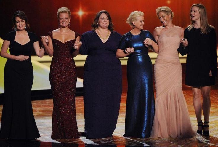 Tina Fey, Martha Plimpton, Melissa McCarthy, Amy Poehler