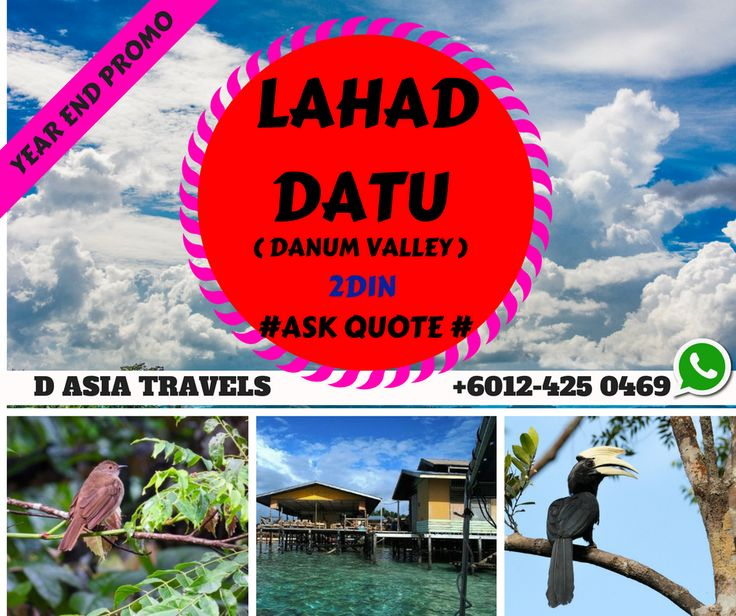Lahad Datu is located in the Tawau division, occupying the peninsula on the north side of Darvel Bay. The Mount Silam ride is a great way to have a scenic hawk eyes view of the Darvel Bay and Lahad Datu Town. This gives visitors a perfect and tranquillity scenic bird's eye view of the Darvel Bay Islands and Lahad Datu Town.