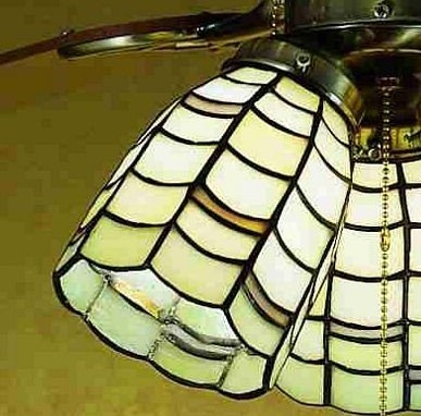 78 Images About Stained Glass Ceiling Fan On Pinterest