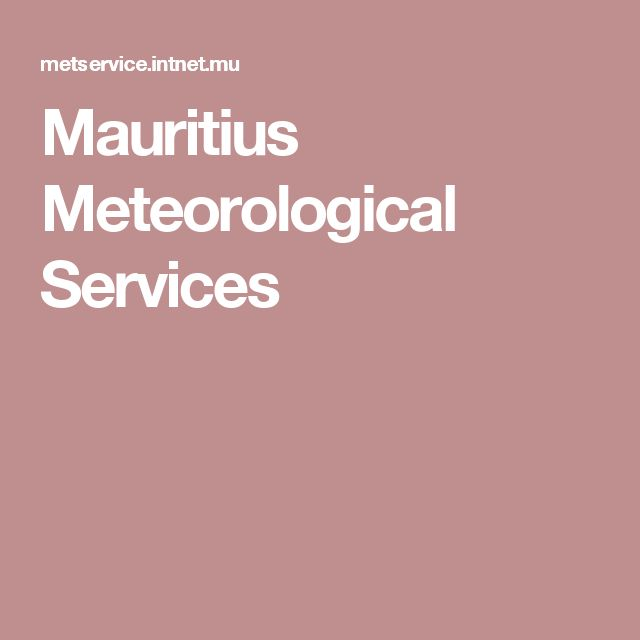 Mauritius Meteorological Services