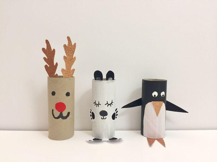 {DIY} Les animaux de Noël! Moma le blog