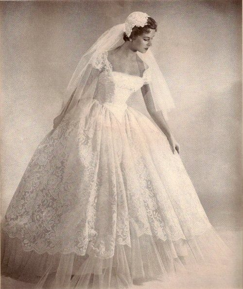 50 Best 50s Style Wedding Dresses 1950s Wedding Dresses