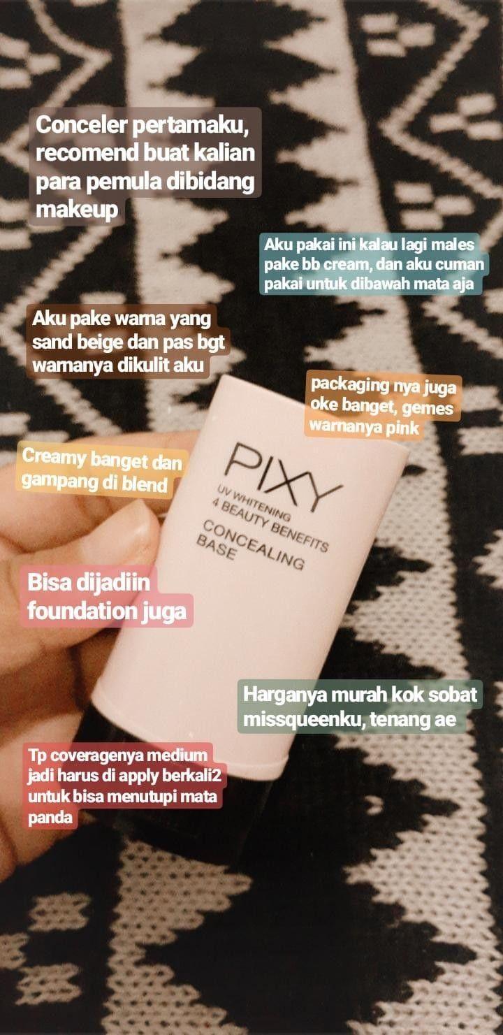Concealing Base Pixy Di 2020 Produk Makeup Kosmetik Alami Perawatan Kulit