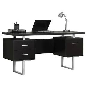 The 25 best gaming desk target ideas on pinterest wall seating modern computer desk black everyroom gumiabroncs Gallery