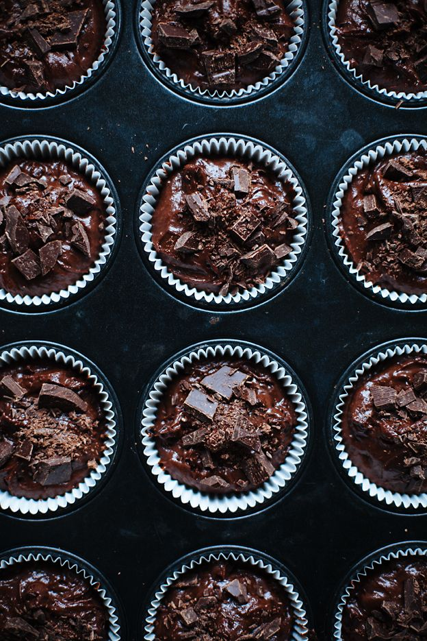 Double Chocolate Muffins / Call me Cupcake