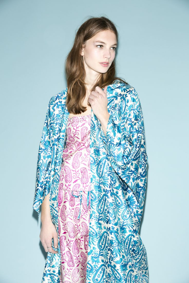Key to Freedom is a charity close to our hearts. This season we're shouting about their gorgeous new pyjama sets and kimono dressing gowns in vibrant pinks and vivid blues. All proceeds from the exclusive collection will go to support the initiative that helps rescued women build a new life for themselves.